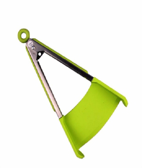 US STOCK Clever Tongs 2 in 1 Kitchen Spatula And Tongs Non Stick Heat Resistance