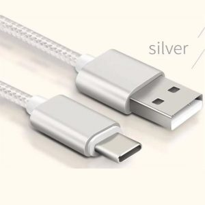 Type C Metal Braided USB Cable 3.0 (2.1A Fast Charging)