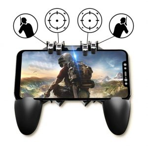 5 PCS PUBG/Fortnite Fire Trigger Buttons Support Gears and Gamepad L1 R1 Analog 5in1